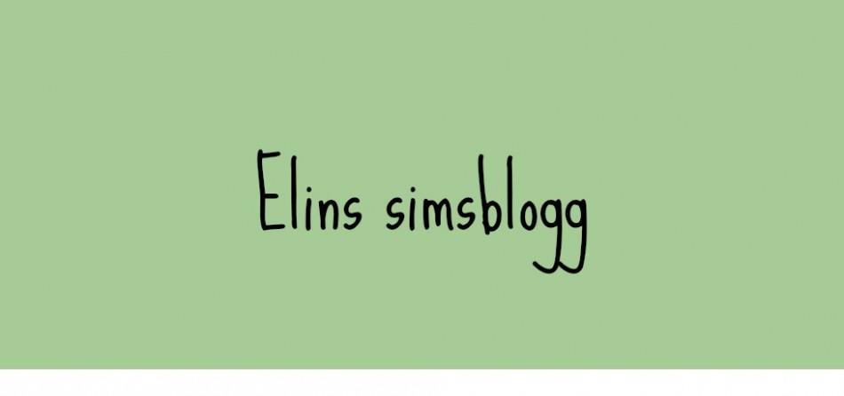 Elins simsblogg ♥